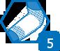 Flector Tissugel EP1% peut être maintenu en place par un filet élastique, si la zone à traiter le nécessite.